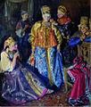 Ivan Kulikov Bridesmaid dress 1907.jpg