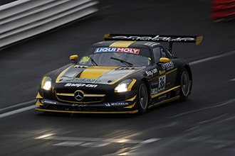Erebus Motorsport - A Mercedes-Benz SLS AMG prepared by Erebus Motorsport and driven by Thomas Jäger, Alexander Roloff and Bernd Schneider to victory in the 2013 Bathurst 12 Hour