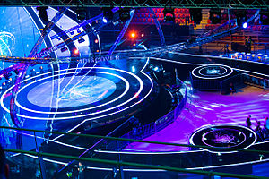 Junior Eurovision Song Contest 2015 - Arena Armeec stage during the 2015 Junior Eurovision.