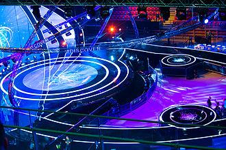 Junior Eurovision Song Contest 2015 - Arena Armeec stage during the 2015 Junior Eurovision.