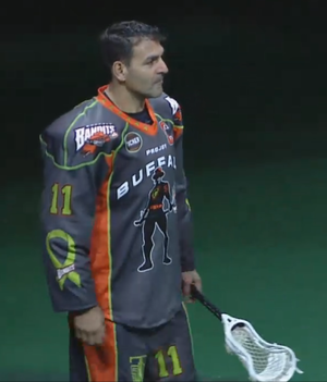 John Tavares (lacrosse) - Image: JT Tucker Out Lymphoma Night 25APR2015
