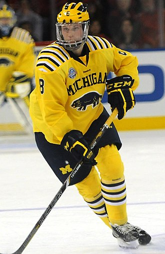 2012 NHL Entry Draft - Jacob Trouba was selected 9th overall by the Winnipeg Jets.