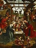 Jacob van Oostsaanen - Adoration of the shepherds, c.1515.jpg