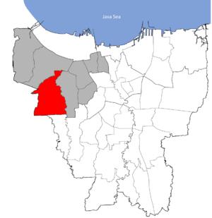 Kembangan, Jakarta - Kembangan in West Jakarta