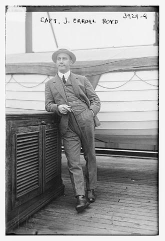 J. Erroll Boyd - Image: James Erroll Dunsford Boyd in 1916