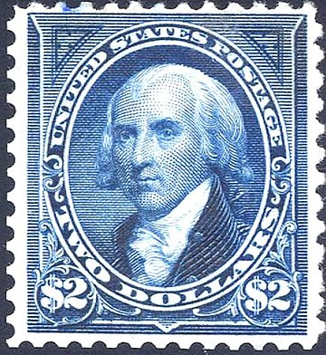 1894 postage stamp honoring Madison James Madison 1894 Issue-2$.jpg