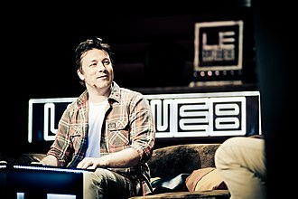 Jamie Oliver - Jamie Oliver at LeWeb Conference in London, 2012