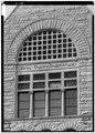 January 1975 DETAIL STONE SCREEN, EAST FACADE - Wayne County Courthouse, Courthouse Square, Richmond, Wayne County, IN HABS IND,89-RICH,3-15.tif