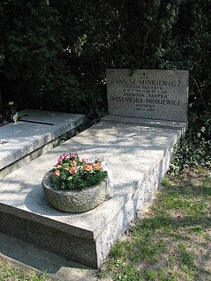 Janusz Minkiewicz - Grave of Janusz Minkiewicz and his wife Jadwiga