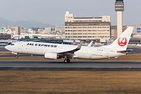 Japan Air Lines, B 737-800, JA347J (23557730273).jpg