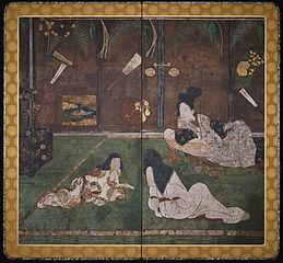 Messenger of Love (Fumitsukai byōbu-e)