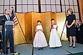 Japanese Girls Perform at a Reception in Honor of Ambassador Kennedy (10830160526).jpg