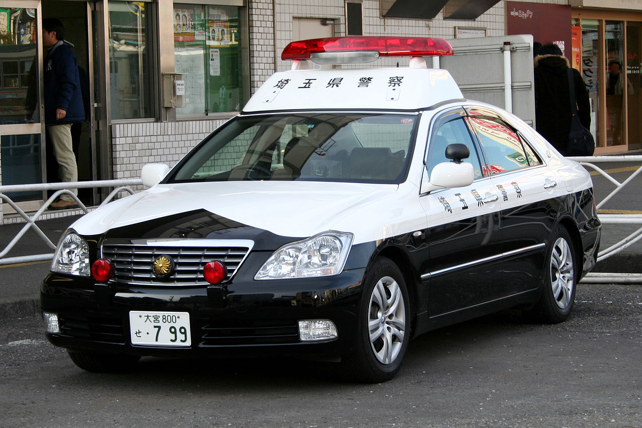 File:Japanese TOYOTA CROWN GRS180 police car jpg - Wikimedia