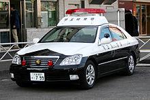 Emergency vehicle lighting wikipedia a japanese police car with a patlite aws light bar aloadofball Gallery