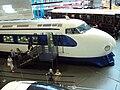 Japanese bullet train (Shinkansen 0 Series) at NRM York - DSC07805.JPG