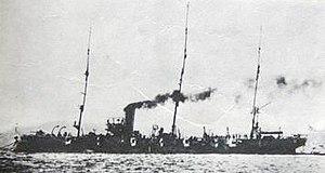 Japanese cruiser Chiyoda - Image: Japanese cruiser Chiyoda