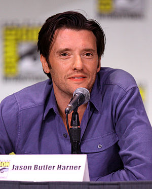 Jason Butler Harner - Harner at the San Diego Comic-Con International in July 2011.