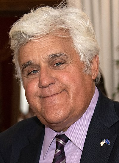Jay Leno, American stand-up comedian