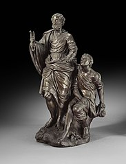 The blind Roman general Belisarius