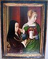 Jean hey, presunto ritratto di madeleine de bourgogne presentata da s.m. maddalena, 1490-95 ca..JPG