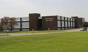 Jeffersonville High School - Image: Jeffersonville High School