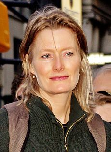 Jennifer Egan på Occupy Wall Street 2011.