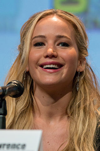 English jennifer lawrence at the 2015 san diego comic con panel for