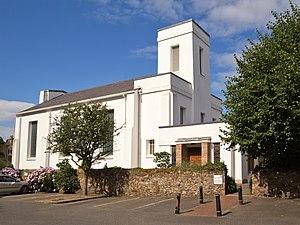 St Matthew's Church, Jersey - Exterior of the Glass Church