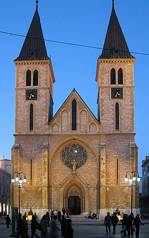 Roman Catholic Archdiocese of Vrhbosna - Sacred Heart Cathedral, Sarajevo