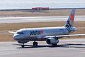 Jetstar Japan ,GK651 ,Airbus A320-232 ,JA09JJ ,Departed to Oita ,Kansai Airport (16642288576).jpg