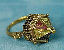 A 14th century Jewish wedding ring