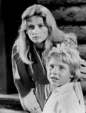 Shane (TV series) - Image: Jill Ireland Christopher Shea Shane 1966