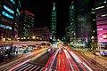 Jilong Road and Xinyi Road intersection, Taipei City 20151104 night.jpg