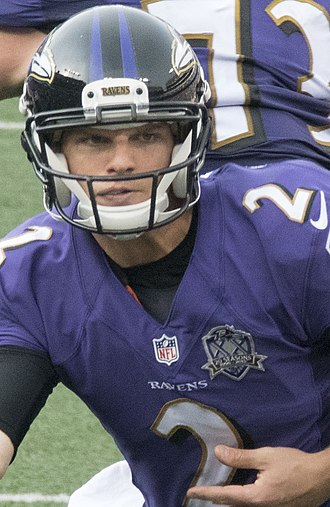 Jimmy Clausen - Clausen with the Baltimore Ravens in 2015