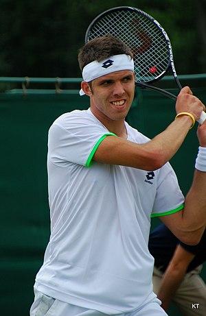 Jiří Veselý - Jiří Veselý at the 2013 Wimbledon Qualifying