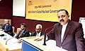 "Jitendra Singh addressing an International Conference on ""India's Role in Global Nuclear Governance"", organised by the Institute for Defence Studies and Analyses (IDSA), in New Delhi.jpg"