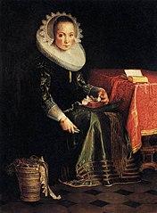 Portrait of Eva Wtewael (1607-1635)