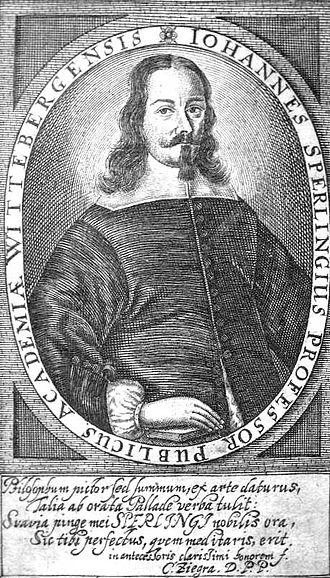 Johann Sperling - Image: Johann Sperling