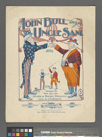 1896 in music - John Bull and Uncle Sam (words by Wm. Allan; music by J.B. Herbert)