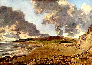 Weymouth Bay - Weymouth Bay: Bowleaze Cove and Jordon Hill by John Constable (1816–17).
