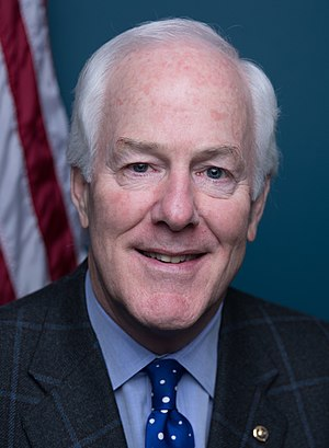 Party leaders of the United States Senate - Majority Whip John Cornyn (R)