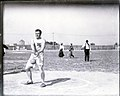 John Flannigan of the Greater New York Irish Athletic Association performing the 56 pound hammer throw at the 1904 Olympics.jpg