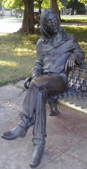 John Lennon Park - Image: John Lennon Statue in Cuba
