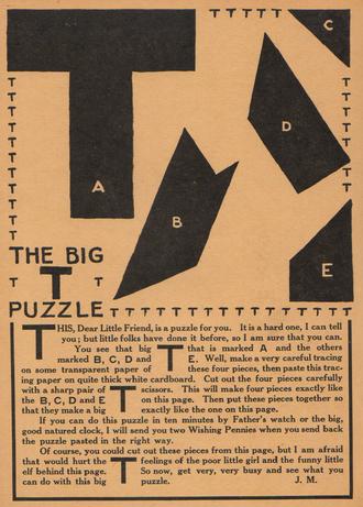 T puzzle - John Martin's T puzzle