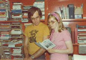 Laissez Faire Books - John Muller and Sharon Presley, Founders of Laissez Faire Books, in 1972.