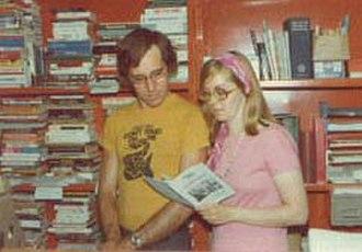 Laissez Faire Books - John Muller and Sharon Presley, Founders of Laissez Faire Books, in 1972.