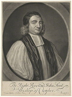 John Sterne (bishop) Dean of St. Patricks, Dublin 1705-1713; became Bishop of Dromore, then Clogher