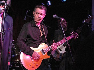 John Turnbull (musician) - John Turnbull with The Blockheads, at Water Rats, July 2011