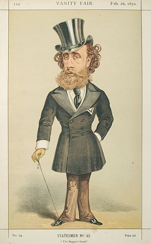 Alfred Thompson (librettist) - Image: John Villiers Stuart Townshend, Vanity Fair, 1870 02 26