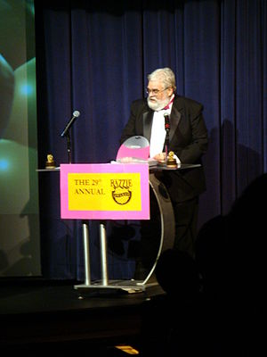 Golden Raspberry Awards - John J. B. Wilson at the 29th Golden Raspberry Awards in 2009.